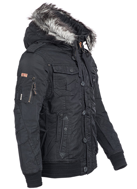 khujo herren winterjacke winterparka winter mantel stepp jacke parka warm cash ebay. Black Bedroom Furniture Sets. Home Design Ideas