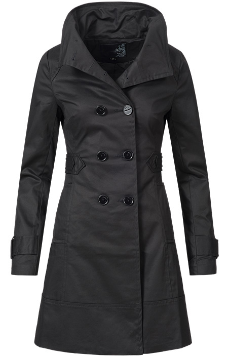 trenchcoat schwarz damen trenchcoat damen trenchcoat. Black Bedroom Furniture Sets. Home Design Ideas