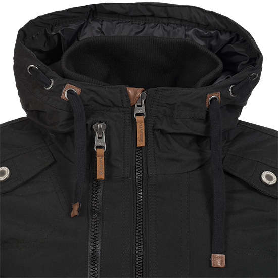 sublevel herren winterjacke parka steppjacke winter jacke. Black Bedroom Furniture Sets. Home Design Ideas