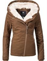 46523a1dafcbd0 Ragwear Damen Winterjacke YM-Gordon Braun | Outdoorjacken | Jacken ...