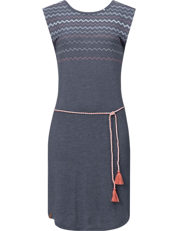 Ragwear Damen Kleid Valencia Dress Grau   Kleider   Damen