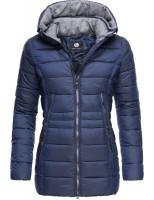 Peak Time Damen Winterjacke L60112 Blau Winterjacken Jacken